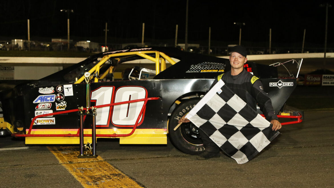 POWER CAPTURES FIRST ATLANTIC MODIFIED TOUR WIN IN SERIES DEBUT