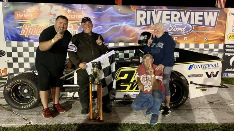 Wilson Starts SpeedWeekend With Second Career Modified Tour Win