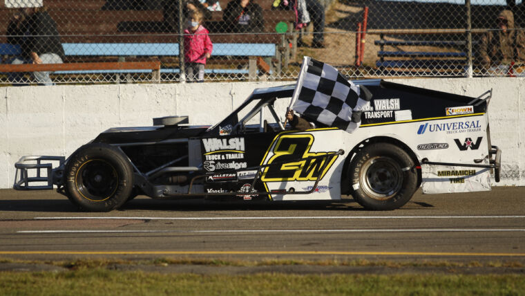 WILSON WINS SECOND AT PETTY RACEWAY IN KROWN RUST CONTROL 50