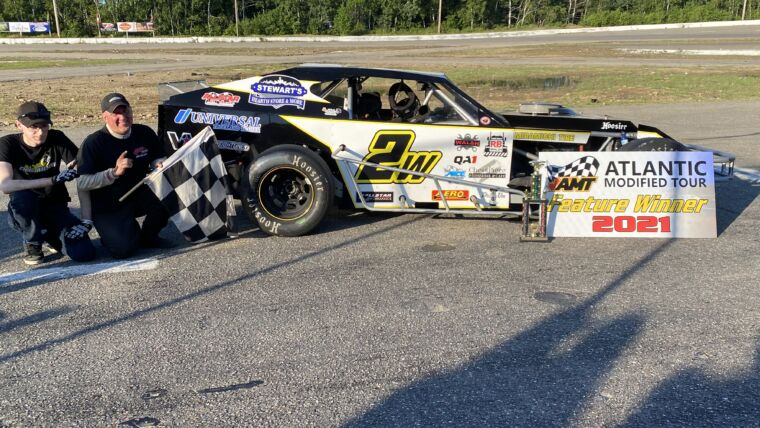 WILSON SCORES FIRST HOMETOWN ATLANTIC MODIFIED TOUR VICTORY