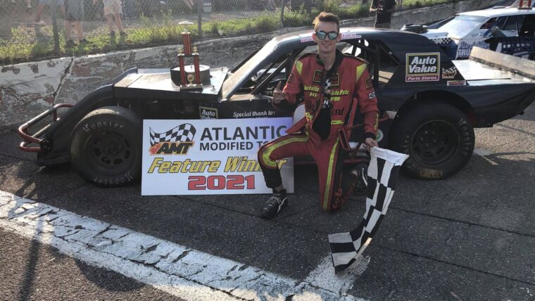 STAFFORD SCORES VICTORY AT SPEEDWAY MIRAMICHI; BECOMES SIXTH DIFFERENT ATLANTIC MODIFIED TOUR WINNER